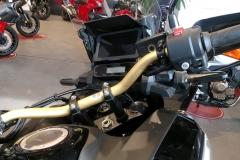 Honda África Twin Sports Adventure Color Negro Darkness Metálico en Servihonda.
