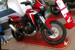 Honda África Twin CRF 1100L Color Rojo Grand Prix en Servihonda.