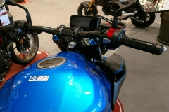 Honda CB500F Color Candy Caribbean Blue Sea en Servihonda.