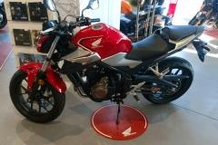 Honda CB500F Color Rojo Gran Premio en Servihonda.