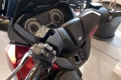 Honda Forza 125 Color Rojo Carnelian Metálico Mate en Servihonda.