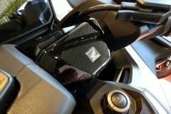 Honda Forza 750 2021 Color Azul Jeans Mate Metalizado.