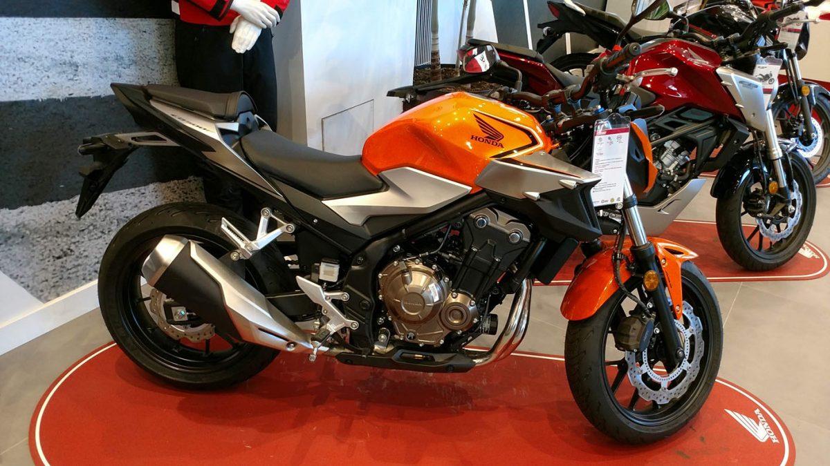 Honda CB500F en Servihonda.