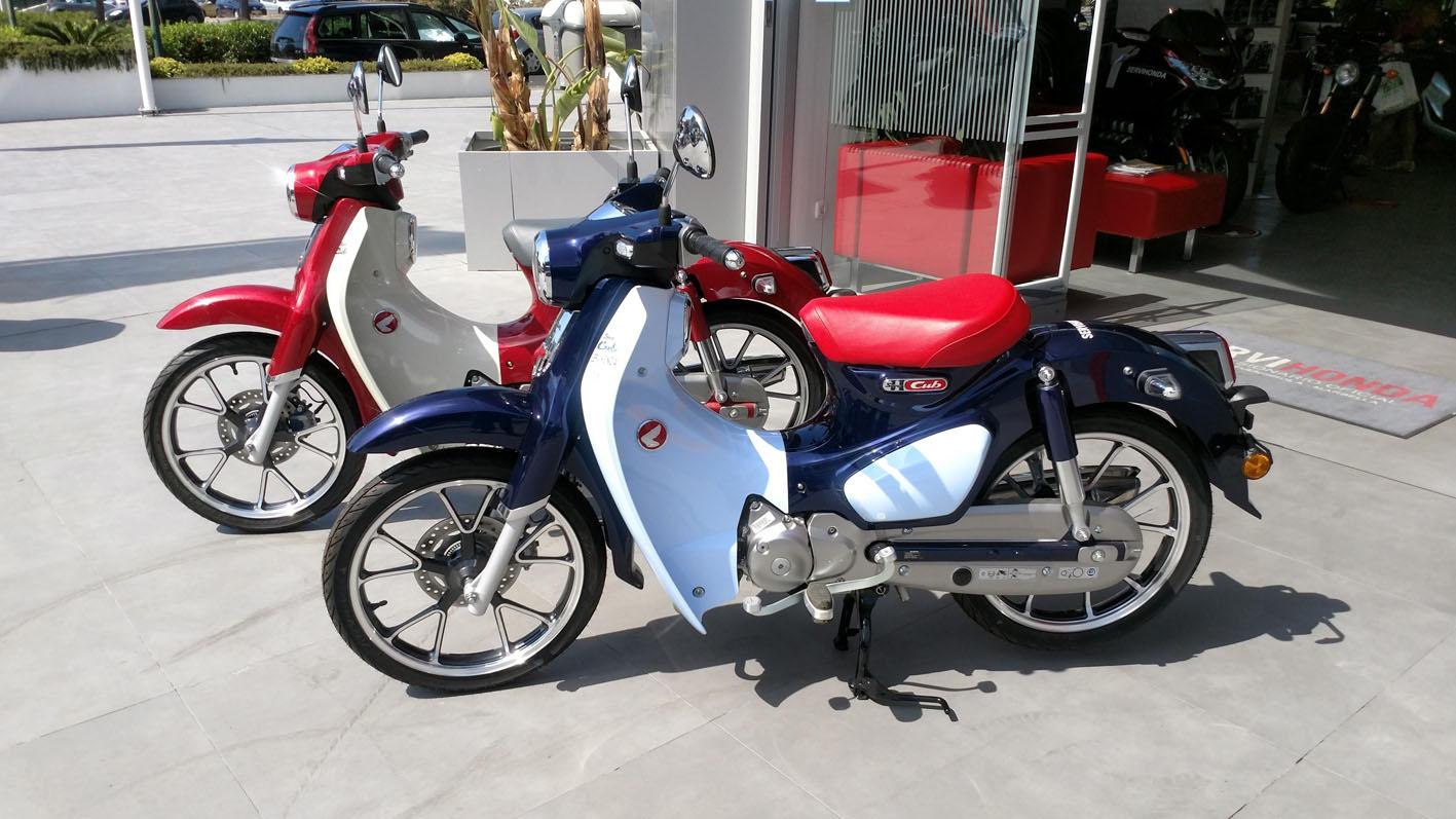 Honda Super CUB Demo Bike en Servihonda.