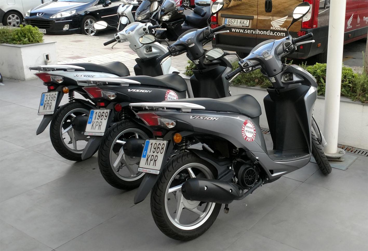 Honda Visión Demo Bike en Servihonda.