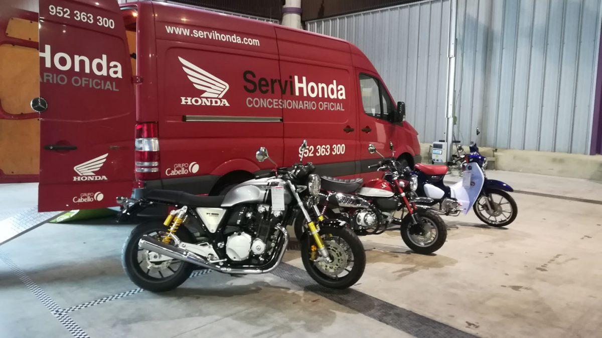 Servihonda en el Salón de la Moto Clásica 2020.