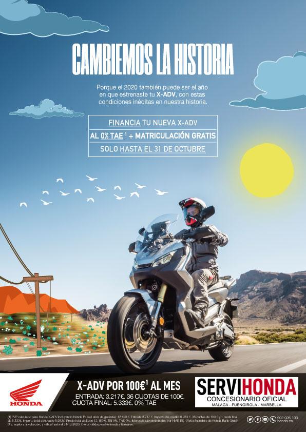 Promoción Honda X-ADV Octubre 2020.