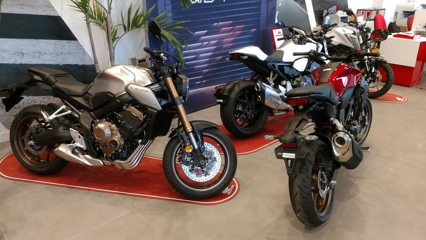 Gama Honda CB en Servihonda.