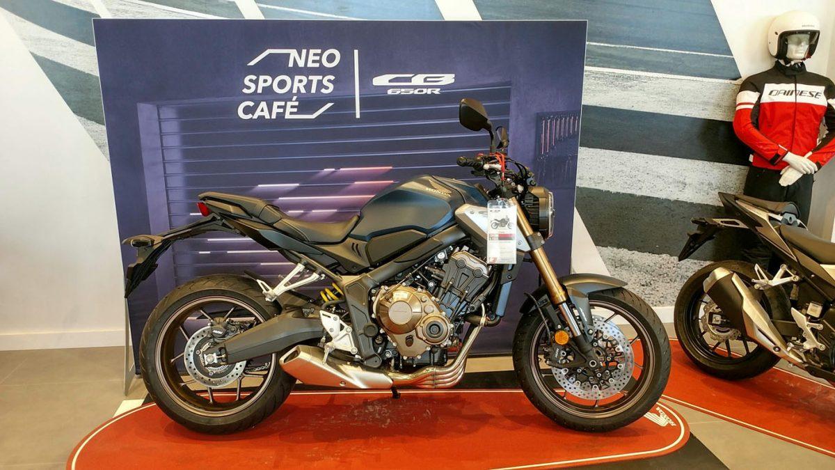 Honda CB650R en Servihonda.
