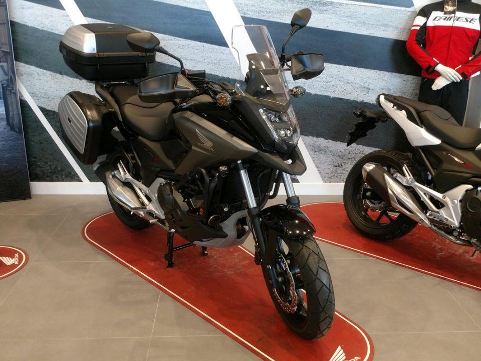 Honda NC750X Travel Edition en Servihonda.
