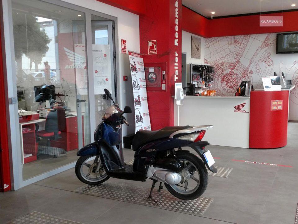 Servicio Post Venta, Taller y Recambio, Oficial Honda en Málaga.