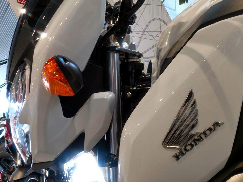 Frontal de la nueva Honda CB125F 2021 en Servihonda.