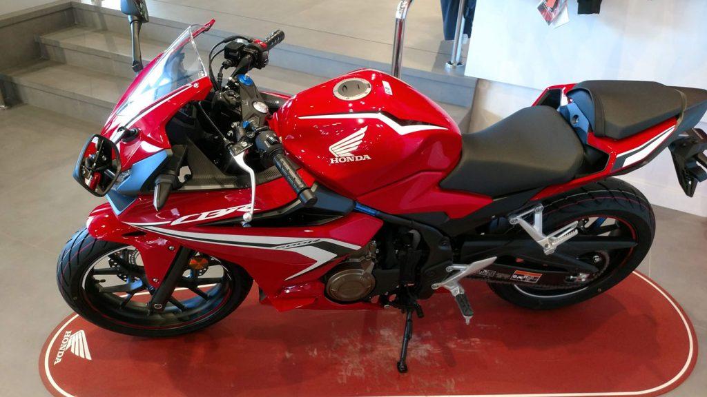 Honda CBR 500R en Servihonda.