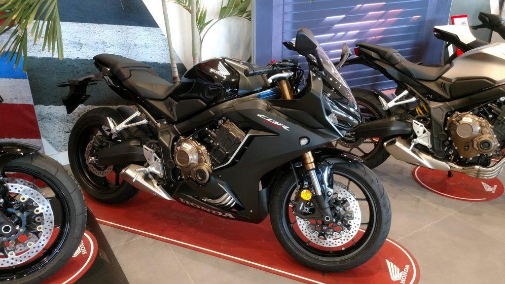 Honda CBR650R 2021.