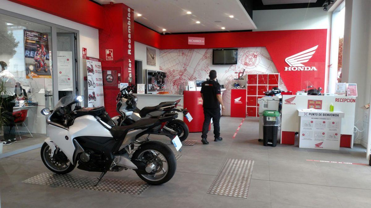 Cita previa taller Honda en Servihonda Málaga.