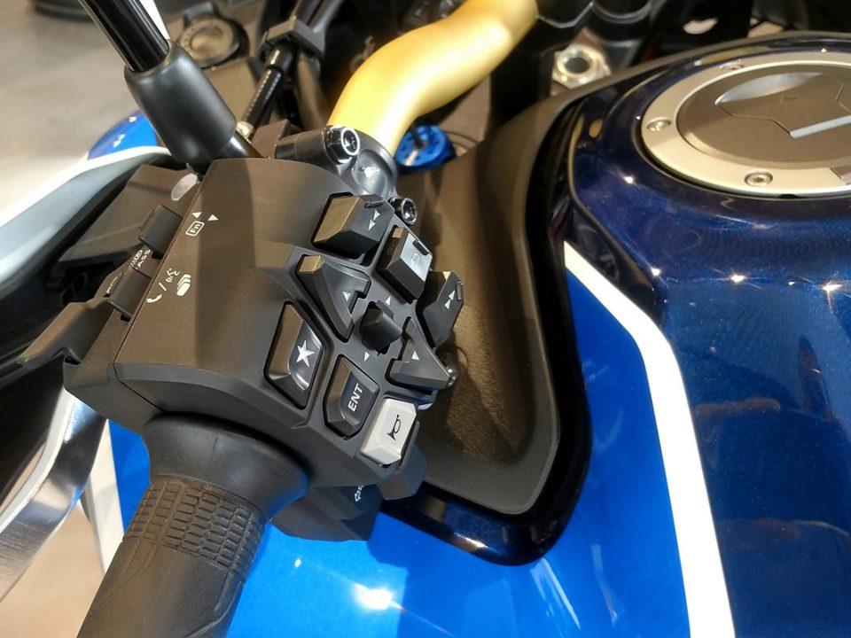 Cambio Automático DCT Honda África Twin Adventure Sports.