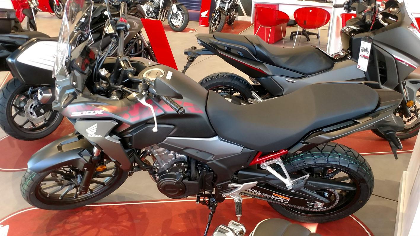 Honda CB500X 2021 Color Negro Mate Gunpowder.
