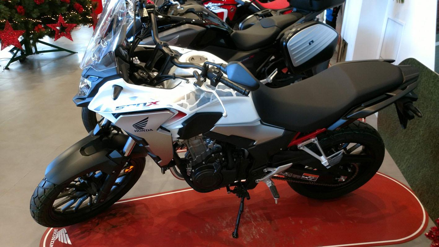 Honda CB 500X 2021 en Servihonda.
