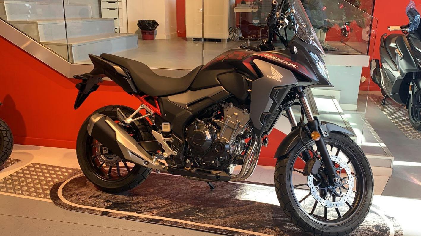 Honda CB500X 2021 en Servihonda Marbella