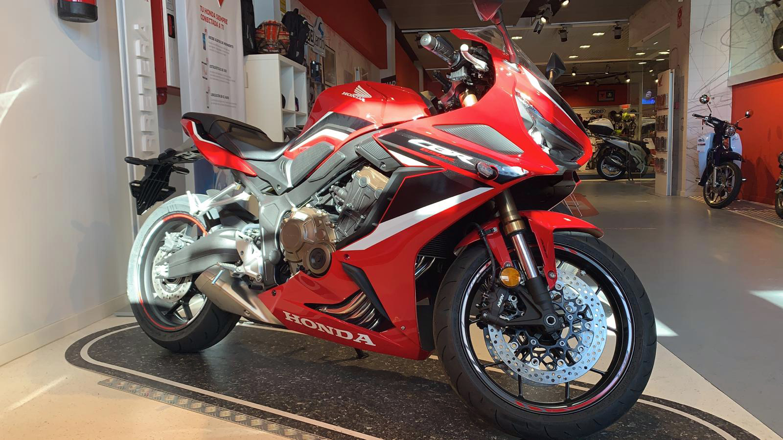 Honda CBR650R 2021 en Servihonda Marbella