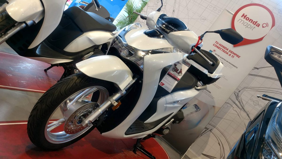 Nueva Honda SH125i en Servihonda.