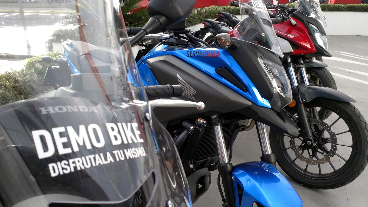 Motos Demo-Bike en Servihonda.