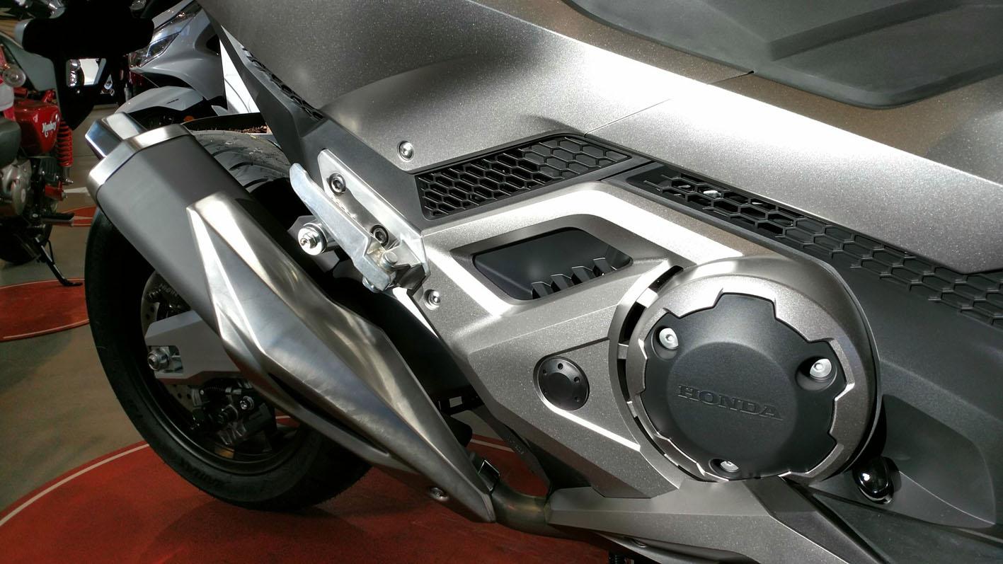 Potente motor bicilíndrico de última generación.