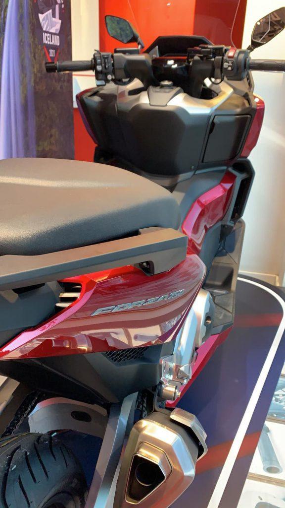 Nueva Honda Forza 750 en Servihonda Marbella.