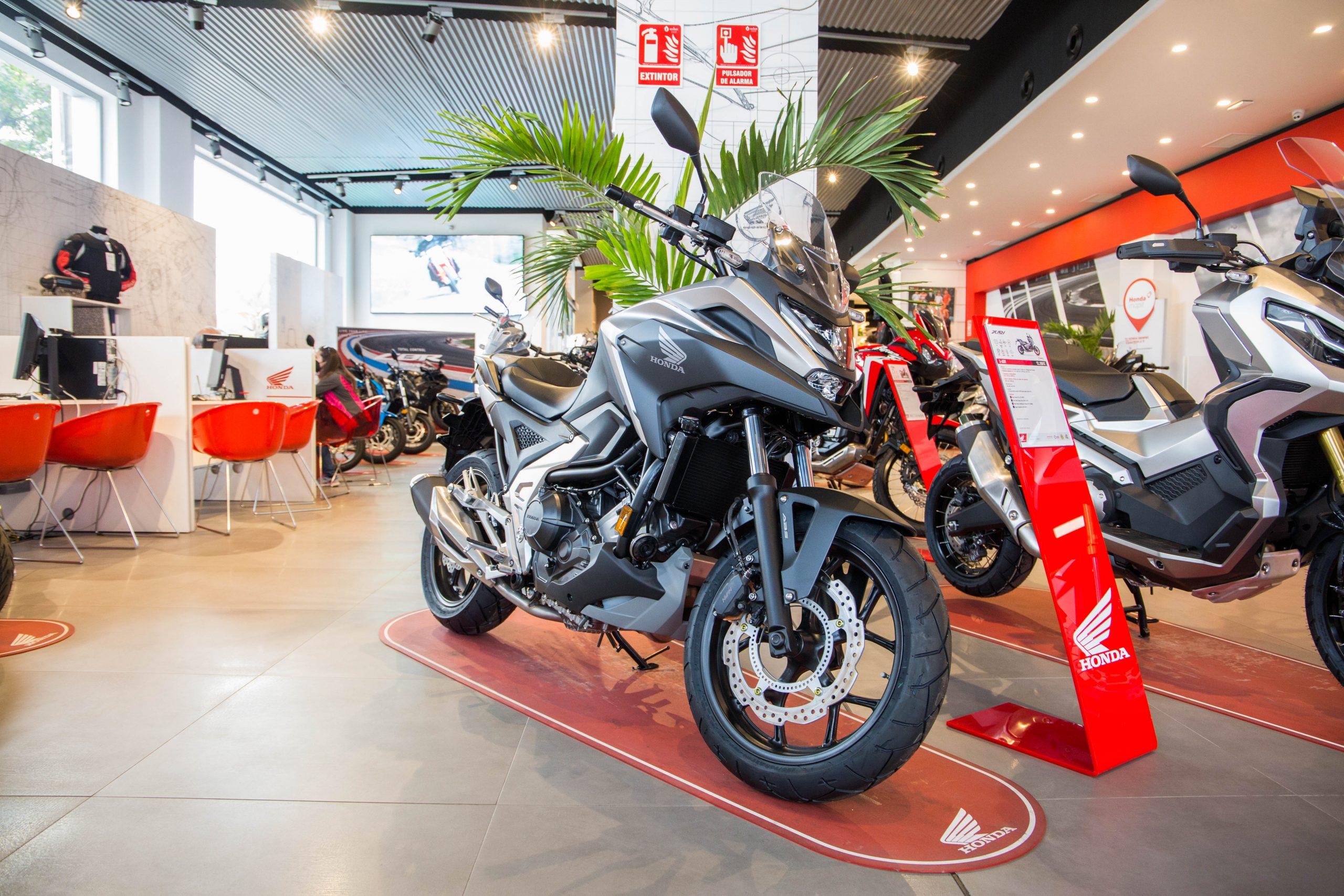Honda NC750X en Servihonda.
