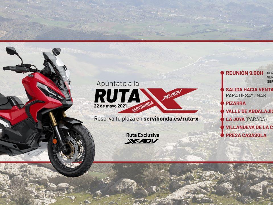 RUTA X | X-ADV SERVIHONDA